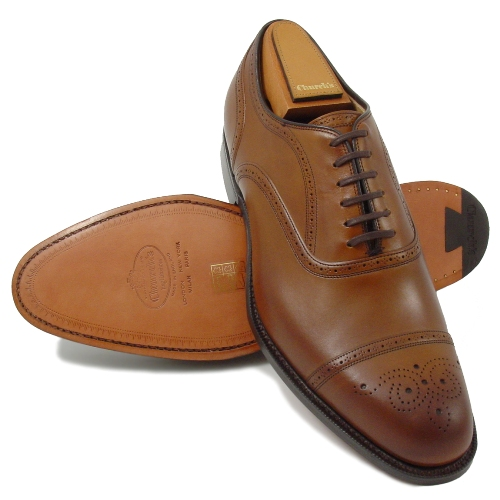 Semi-Brogue Oxford (Оксфорды полу-броги)